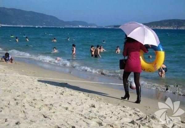 Plaj stilini biraz yanlış anlamak...