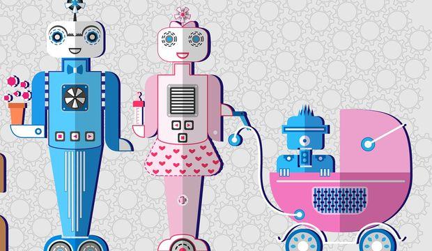 Robotlar ebeveynlerin yerini mi alıyor?
