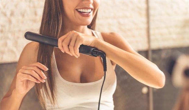 Saç düzleştiricisi ile yapabileceğiniz 5 şey