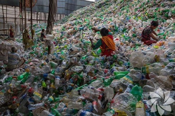 Plastik ambalajlardan mümkün olduğunca kaçınmak çevreyi korumak için atılabilecek ufak ama önemli adımlardan. Fotoğraf: Randy Olson