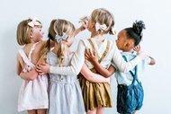 Kız çocukları için değişik saç toplama modelleri