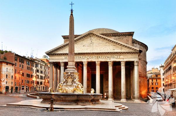 20. Pantheon Bulunduğu yer: Roma / İtalya Yapılış tarihi: MS 125
