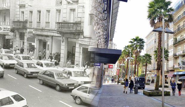 Arabaların yasaklandığı şehir Pontevedra