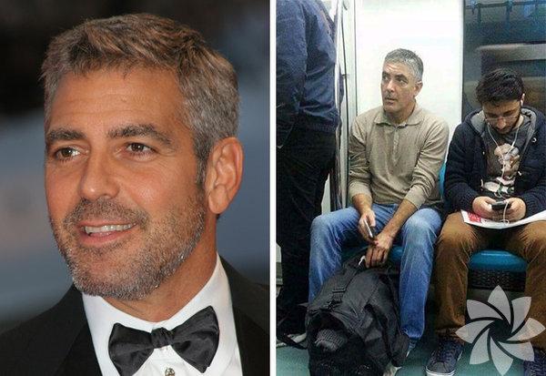 Türkiye'de yaşayıp metroya binen George Clooney