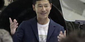 Mehtaba gerçekten çıkacak ilk insan: Yusaku Maezawa