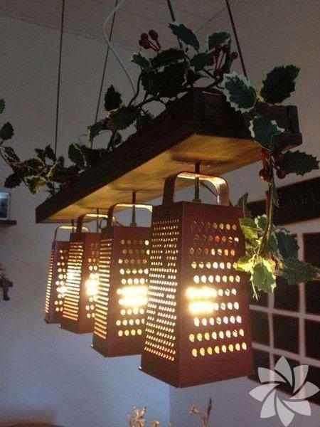 İlginç mutfak lambaları