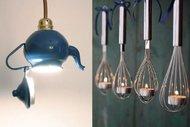 En ilginç mutfak lambaları