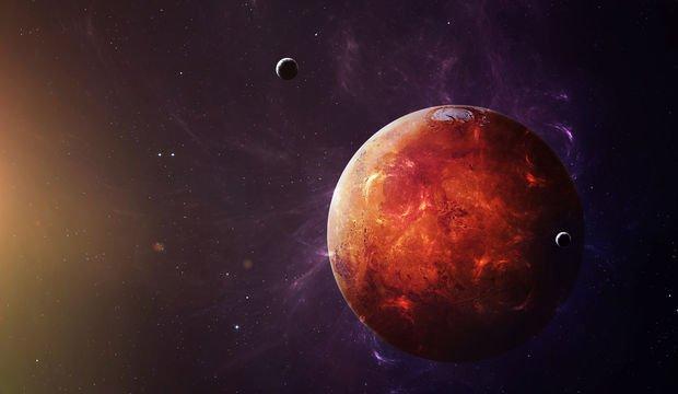 Mars balık burcunda aktif