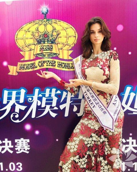 MISS Turkey 2017 Yarışması'nda ikinci seçilen Pınar Tartan, Dünya Mankenler Kraliçesi Yarışması'nda birinci oldu.