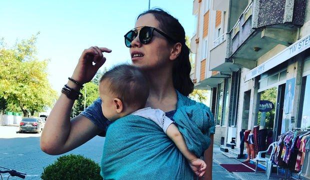 Babywearing denince akla