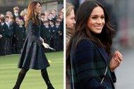 Meghan Markle ve Kate Middleton'un stil benzerliği
