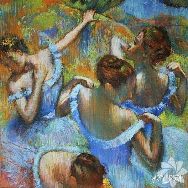 Mavi Dansçılar - Edgar Degas