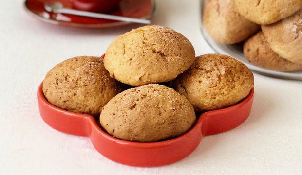 Portakallı lor kurabiyeleri