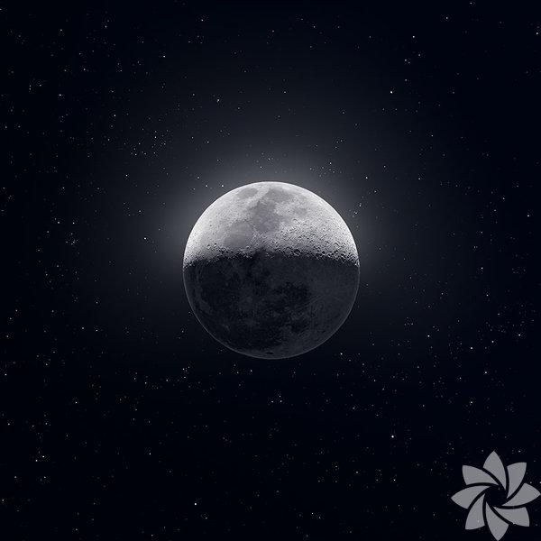 Uzaydan çekilmiş fotoğraflarla Ay'ın birbirinden güzel görüntüleri...