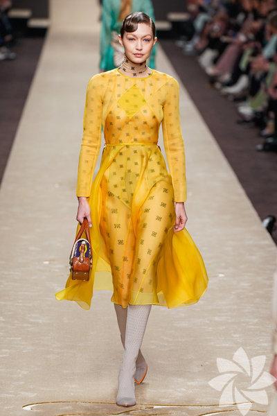 Milano Moda Haftası: Fendi 2019-20 Sonbahar/Kış