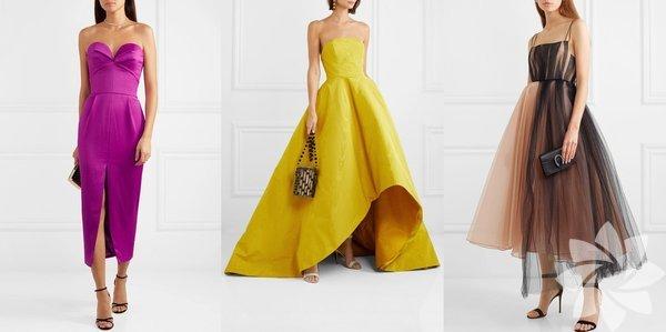 Rengarenk Limon sarısı, mor, bej, toprak tonları. Bu senenin öne çıkan renkleri bunlar olacağa benziyor. Birçok tasarımcının moda haftalarında sunduğu elbiselerde görmeye alıştığımız bu renklerdeki elbiseler düğün sezonunda kendini çokça gösterecek.