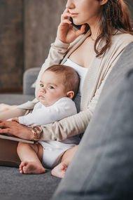 Çalışan anne – Evde oturan anne