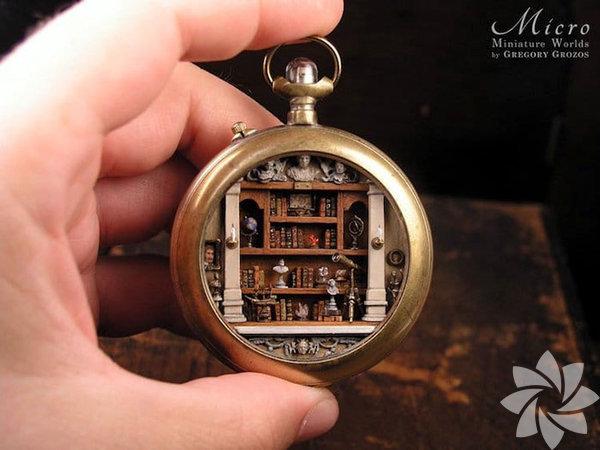 Cep saatinden minyatür dünyasına