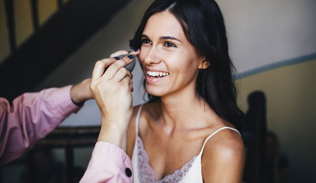 Düğün makyajının sırrı: Kontür makyaj uygulamaları