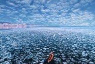 Dünyanın en derin gölünden kareler