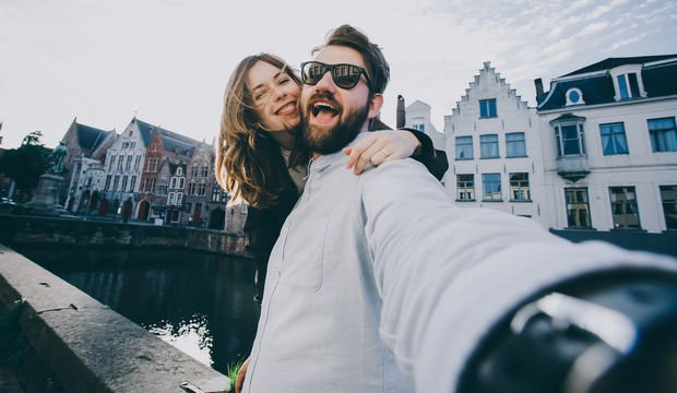 Sosyal medyada çok paylaşım yapan çiftler...