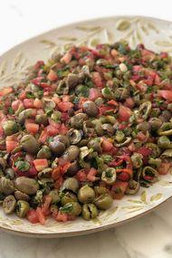 Zeytin salatası