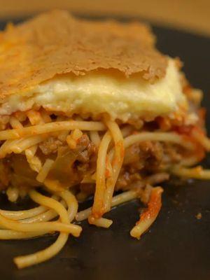 Pratik bir tarif: Spagettiden lazanya