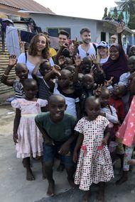 Afrika'da macera dolu bir gönüllülük hikâyesi