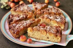 Japon elmalı tarçınlı kek - Müjgan Yurtseven Japon elmalı tarçınl...