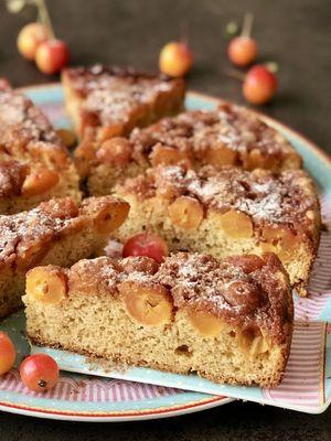 Japon elmalı tarçınlı kek