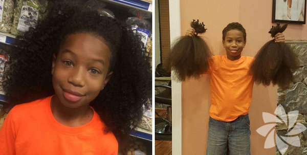Saçlarını bağışlayan iyilik melekleri