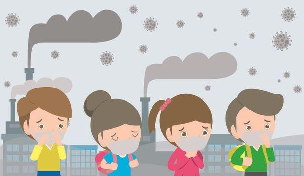 Hava kirliliği alerji ve hastalık nedeni