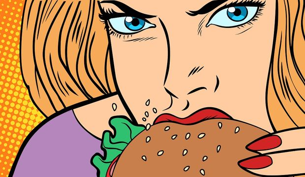 Yemek bağımlılığının 8 işareti