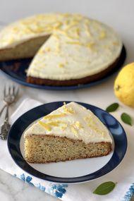 Limon kremalı haşhaşlı kek