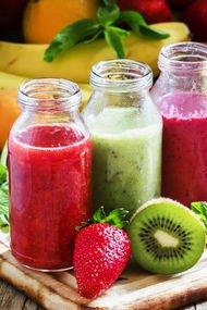 Bağırsak temizleyen taze meyve suyu