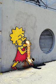 Duvarları daha eğlenceli hale getiren sanatçı: Efix