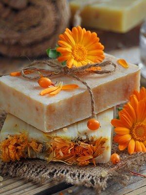 Egzamadan korunmak için doğal sabunlar