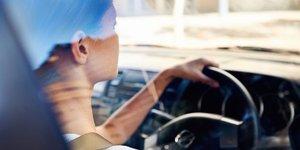Trafikte kadın olmak!
