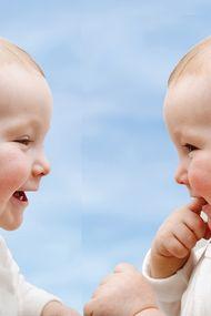 İkizlerim 19 aylık