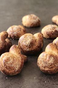 Ballı salyangoz kurabiyeler