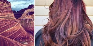 Doğadan ilham alınarak yapılmış muhteşem saçlar