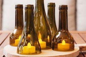 Cam şişe ile neler yapılabilir?